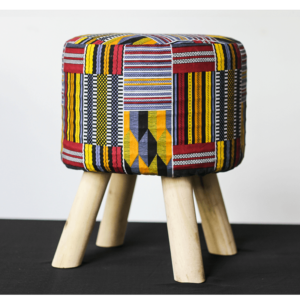 Pouf-Wax-Kente JUA&CO