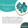 Boucles d'oreilles Chrysocolle la llama coqueta sur JUA&CO 4