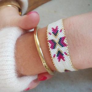 bracelet flocon rose sur JUA&CO 2