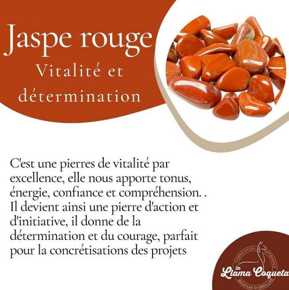 Les vertus du Jaspe rouge
