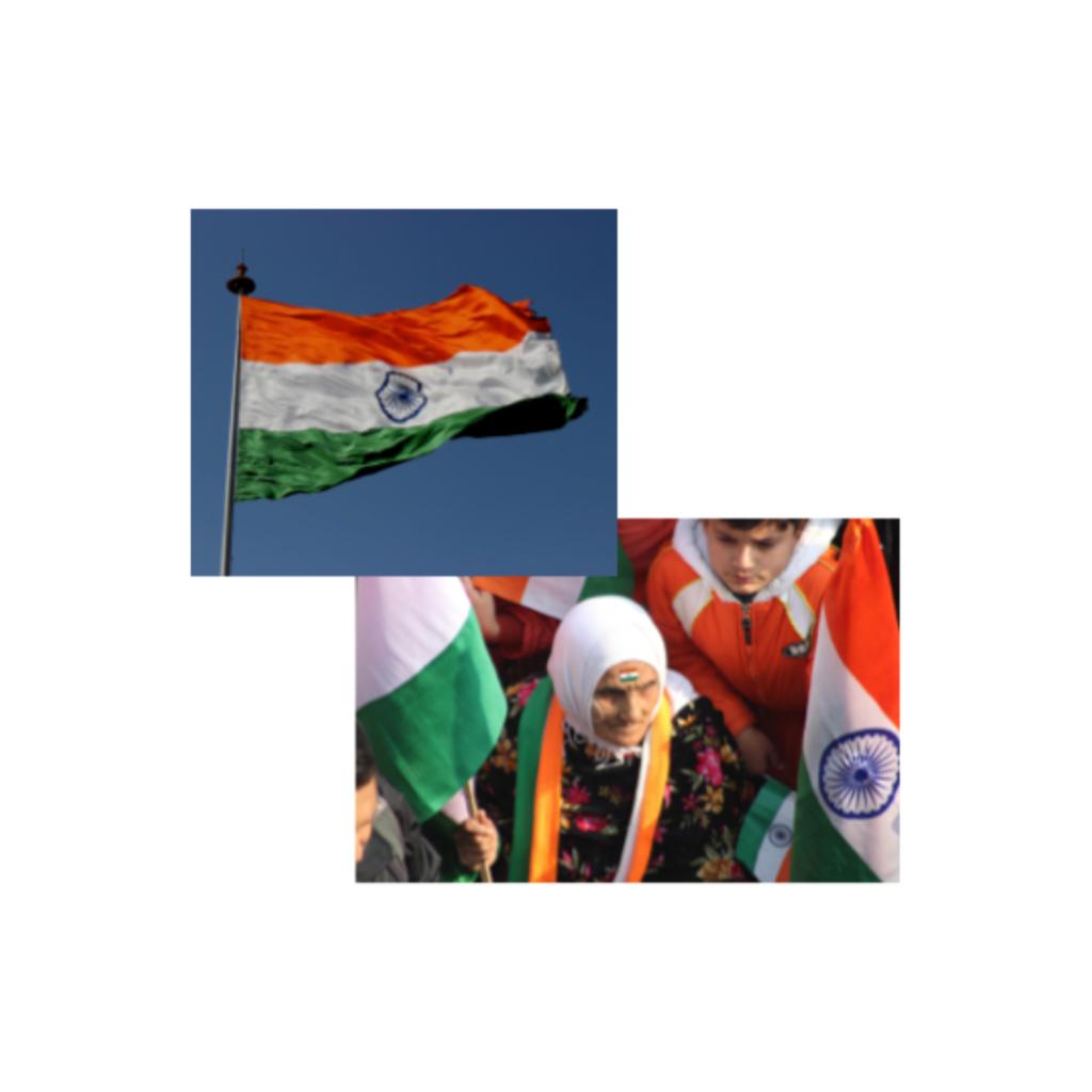 The republic day en Inde