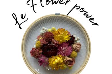 Le flower power JUA&CO